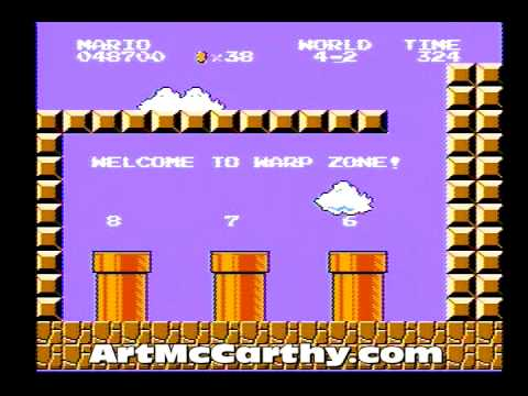 HOW TO BEAT SUPER MARIO BROS.