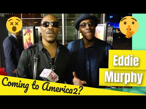 Eddie Murphy & Arsenio Hall talk about Coming to America 2 at MR CHURCH premiere on FabulousTV  FabT