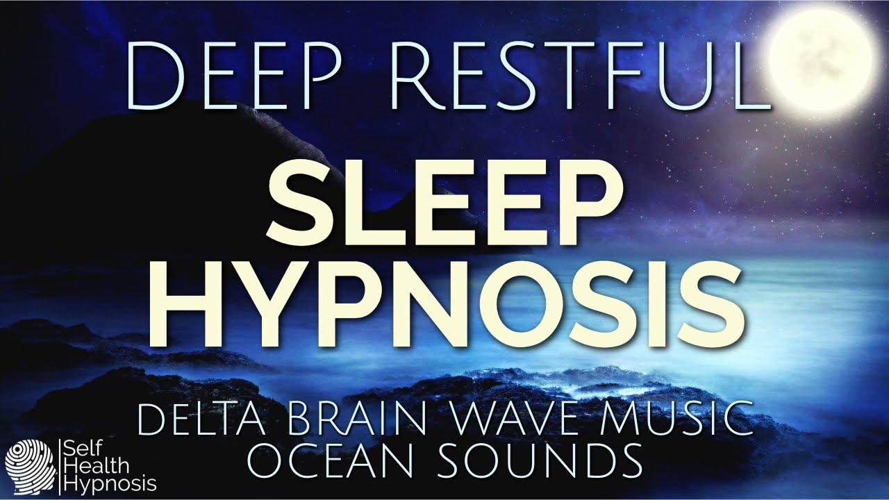 Hypnosis For Deep Restful Sleep Meditation Relaxation Calming Female Voice ASMR Bedtime Ocean Sounds