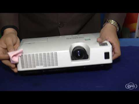 18  How to clean lens of a projector