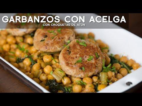 GARBANZOS CON ACELGAS - COMIDA PERUANA | ACOMER.PE