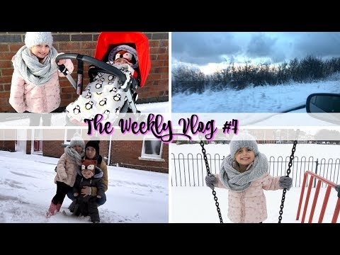 SNOWED IN! THE BEAST FROM THE EAST! | THE WEEKLY VLOG #7 | THE PERKS OF BEING A MOTHER