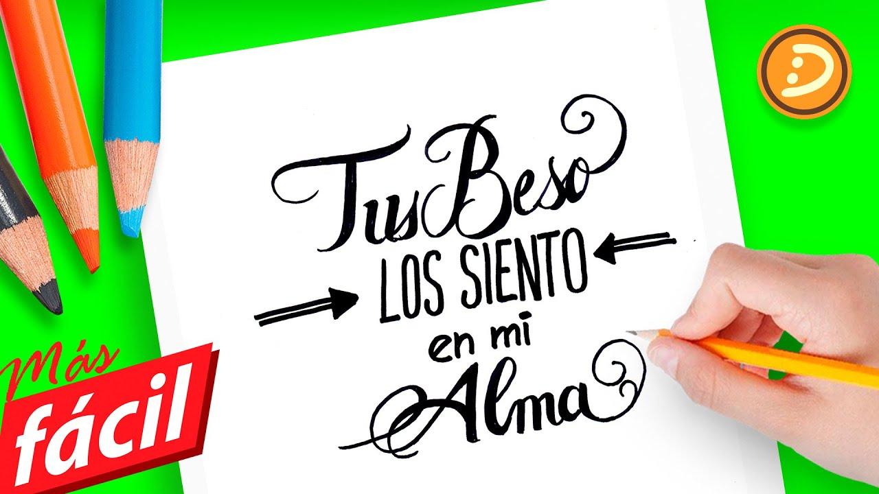 Imagenes De Amor Con Frases De Amor: Como Dibujar Besos