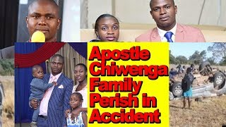 Apostle Chiwenga Loses Family Fatal Accident, Wife, Child And Sister, What Really Happened?