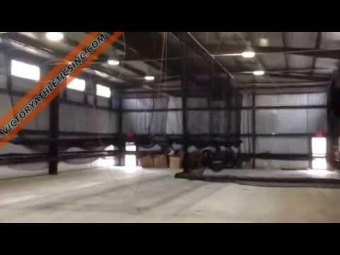 Motorized Indoor Retractable Batting Cage