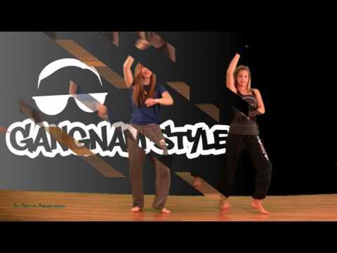 Gangnam Style Dance Tutorial - Easy Step Breakdown Psy thumbnail