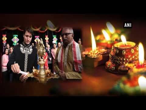 Canadian PM Justin Trudeau sends Diwali greetings - ANI News