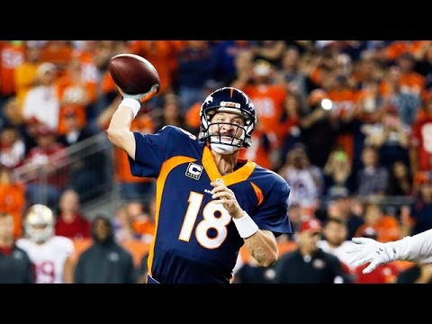 Peyton Manning Mic'd Up Breaking Favre's NFL All-Time TD Pass Record | Sound FX