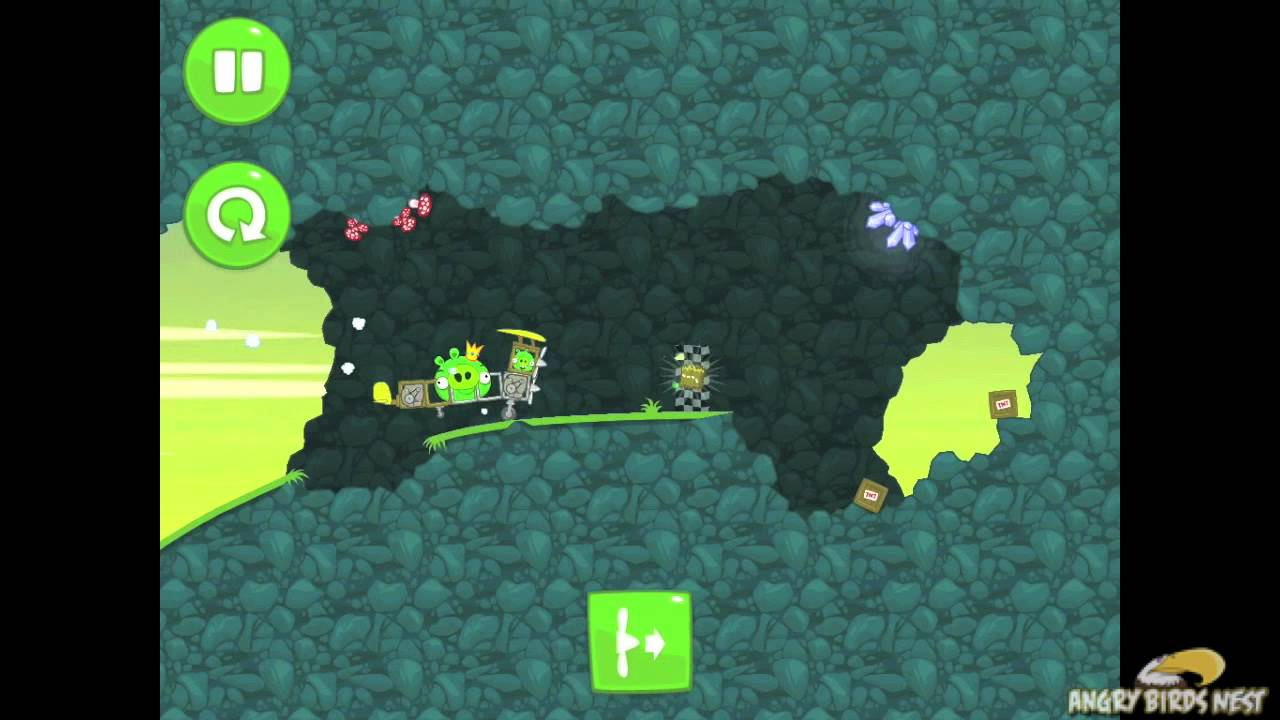 Bad 24 Bad Piggies When Pigs Fly 3 24 Walkthrough 3 Star