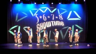 5-6-7-8 Showtime - High Score Adult - Nationals 2009 - Daddy Cool.mov