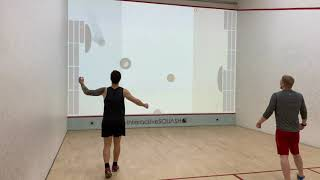 interactiveSQUASH Game Pong