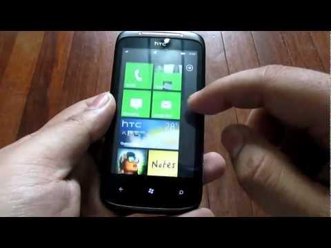 HTC 7 Mozart Unboxing (Review Unit)