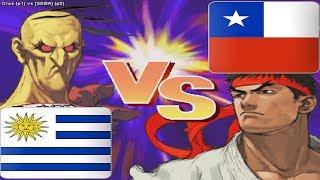 Street Fighter III 3rd Strike: Fight for the Future - oros vs [SEBA]