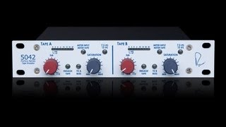 Rupert Neve Designs Portico 5042 Tape Emulator on electric guitars