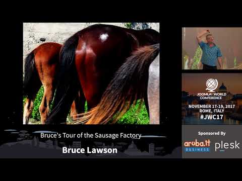 Bruce's Tour of the Sausage Factory - Bruce Lawson