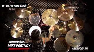 cymbal vote mike portnoy demo 18 b8 pro aero crash