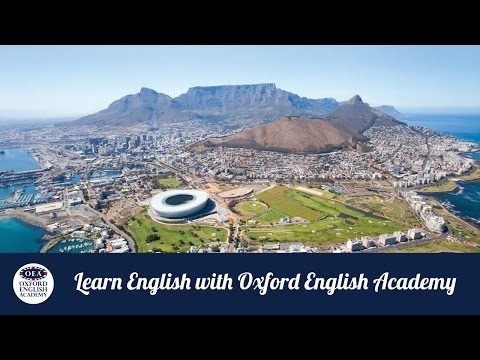 Learn English with Oxford English Academy: Internships in Cape Town