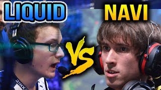 Miracle- VS Dendi - LIQUID VS NA`VI - ESL One Genting 2018 Dota 2