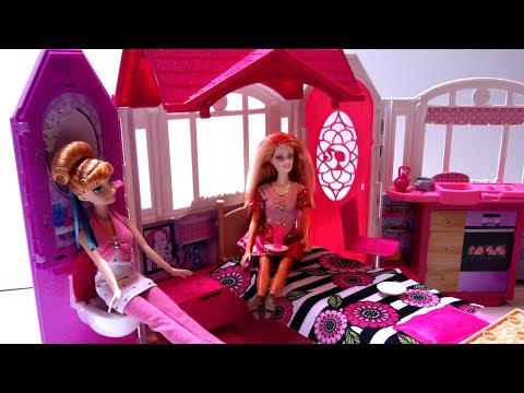 Ngôi Nhà Xinh Đẹp Của Búp Bê Barbie Mới Nhất 2015 (Bí Đỏ) Barbie