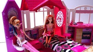 Ngôi Nhà Xinh Đẹp Của Búp Bê Barbie Mới Nhất 2015 (Bí Đỏ) Barbie's Beautyfull House