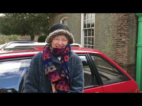 Isobel Pearce and her Maestro - 2018 Austin Rover Classic Cars Nuffield Place
