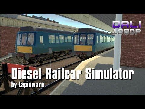 Diesel Railcar Simulator PC Gameplay 1080p 60fps