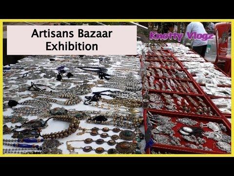 Artisans Bazaar Exhibition At ChitraKala Parishat In Bangalore | Handlooms, Wood Carvings, Antiques