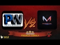 WarRecap Tournoi French Family - Marklor vs PacificWarriors
