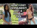 How I Lost 22 Pounds?! Diet Tips+ BodyBoss Fitness Routine