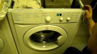 видео Ошибка H20 в стиральной машине Индезит