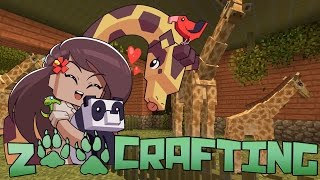 Dramatic Birth of a Baby Giraffe!! • Zoo Crafting Season 4: New Horizons