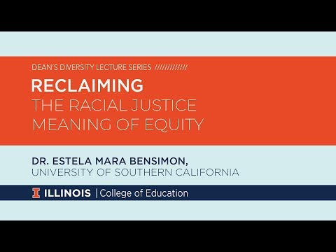 Reclaiming the Racial Justice Meaning of Equity - YouTube