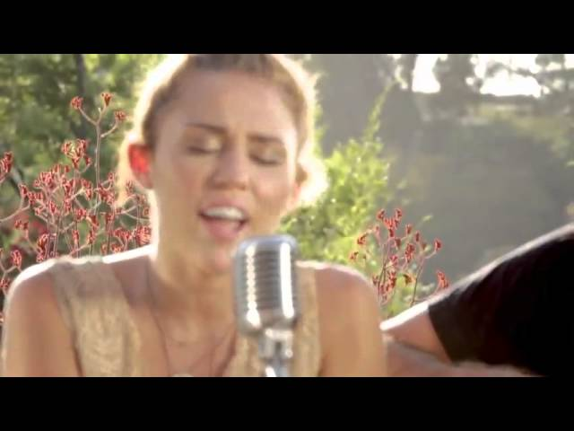 """Miley Cyrus - """"Backyard Sessions"""" """"Look What Theyve Done ..."""