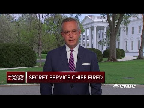 Secret Service Director Fired By President Trump