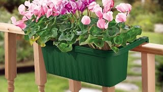 24 Adjustable Railing Planter from Apollo Exports