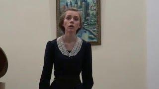 """видео: Мария Мутлова """"Скажи, зачем..."""" (М. Глинка, сл. С. Голицына)"""