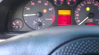 ДваДаВинчи. Холодный пуск Audi S4b5 минус 32