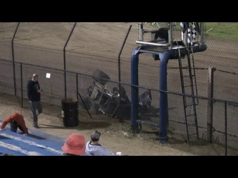 Garrett Green flip at East Bay Raceway Park 12/05/15