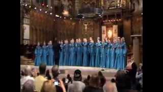 Сибирский хор в базилике Девы Марии монастыря Монтсеррат (Испания, Каталония)(, 2013-11-23T08:29:55.000Z)