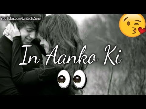 💟 In Aankho Ki Masti Ke Mastane Hazaro Hai 💟    💟 Female version Special love whatsapp status 💓