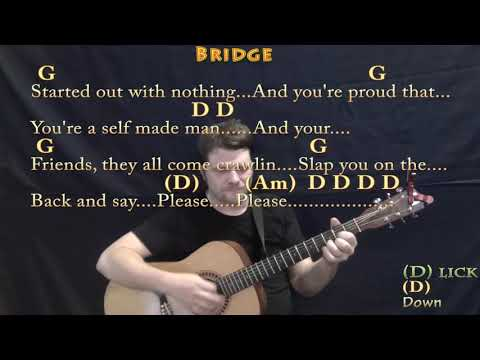 Stuck In The Middle (Stealers Wheel) Strum Guitar Cover Lesson in D with Chords/Lyrics