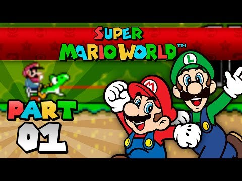 Super Mario World - Part 01 (2 Player)