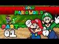Super Mario World - Part 01 (2 Player)