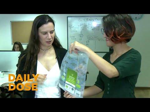 Israeli Start-Up Develops Biodegradable Plastic