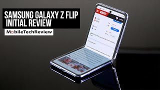 Samsung Galaxy Z Flip Initial Review