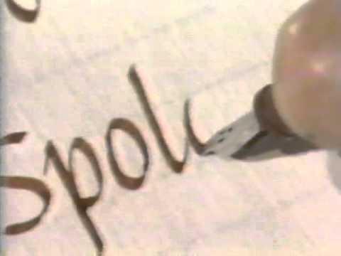 Lloyd Reynolds' Italic Calligraphy & Handwriting Episode 7