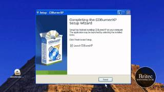 How to Burn or Copy a ISO Image With CDBurnerXP by Britec