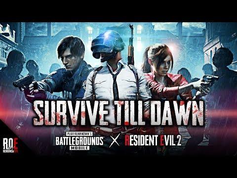 RESIDENT EVIL 2 x PUBG MOBILE ||  NEW Zombie Mode | Leon VS. Tyrant Gameplay