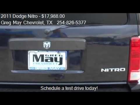 2011 Dodge Nitro Heat 4x2 4dr SUV For Sale In West, TX 76691