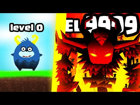 IS THIS THE MOST STRONGEST TITAN MONSTER EVOLUTION? (9999+ LEVEL SIZE) l Tap Titans 2 New Game  